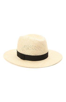 Женская шляпа london COCOSHNICK HEADDRESS кремвого цвета, арт. Londonstraw | Фото 2 (Материал: Растительное волокно)