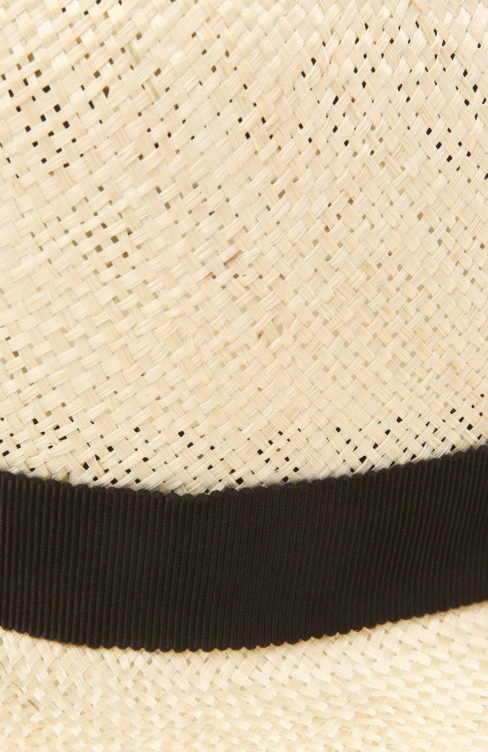 Женская шляпа london COCOSHNICK HEADDRESS кремвого цвета, арт. Londonstraw | Фото 3 (Материал: Растительное волокно)