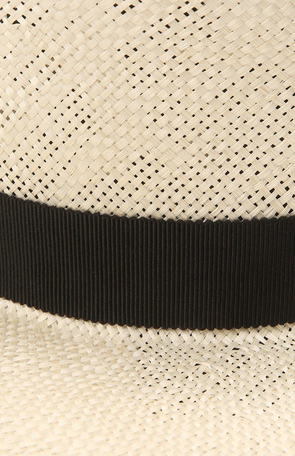 Женская шляпа kanotie COCOSHNICK HEADDRESS светло-бежевого цвета, арт. Kanotiestraw   Фото 4 (Материал: Растительное волокно)