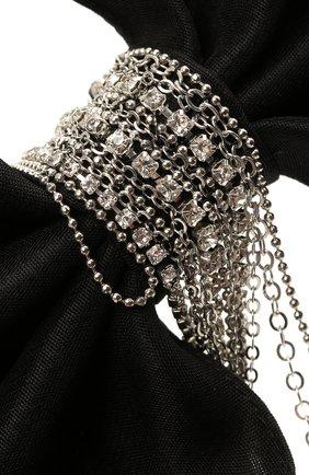 Женская бант PANFIL черного цвета, арт. Бант 0-D2-DrS | Фото 3 (Материал: Текстиль)