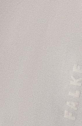 Женские носки FALKE серого цвета, арт. 47673 | Фото 2 (Материал внешний: Синтетический материал, Хлопок)