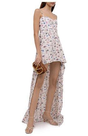 Женское хлопковое платье RUBAN светло-розового цвета, арт. RPSU21-12.1.51.0.20   Фото 2