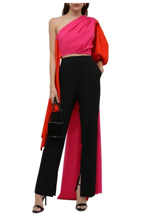 Женский хлопковый топ RUBAN розового цвета, арт. RТS21-11.1.51.28   Фото 2