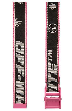 Женский текстильный пояс industrial OFF-WHITE черного цвета, арт. 0WRB042S21FAB001 | Фото 2