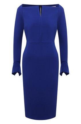 Женское платье ROLAND MOURET синего цвета, арт. EW21/S2256/F0509   Фото 1