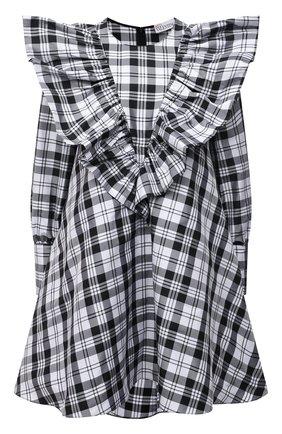 Женское платье REDVALENTINO черно-белого цвета, арт. WR3VABF0/5YH | Фото 1