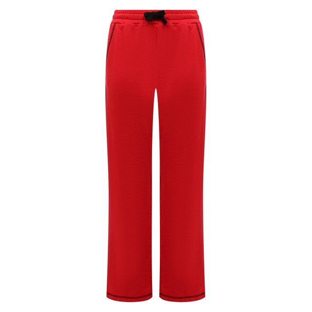 Хлопковые брюки REDVALENTINO