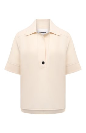 Женская блузка JIL SANDER кремвого цвета, арт. JSCT561206-WT440200   Фото 1