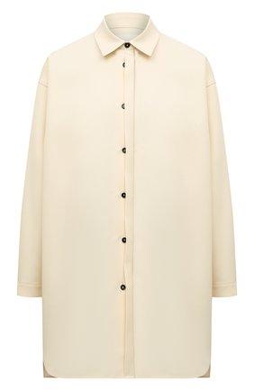 Женская рубашка JIL SANDER кремвого цвета, арт. JSCT603305-WT440200   Фото 1