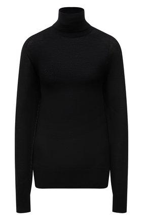 Женская водолазка JIL SANDER черного цвета, арт. JSCT754040-WTY11018   Фото 1