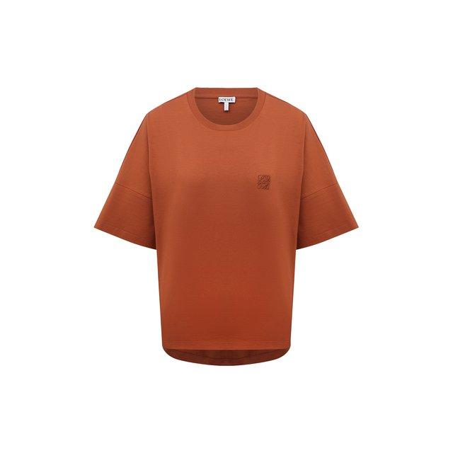 Хлопковая футболка Loewe