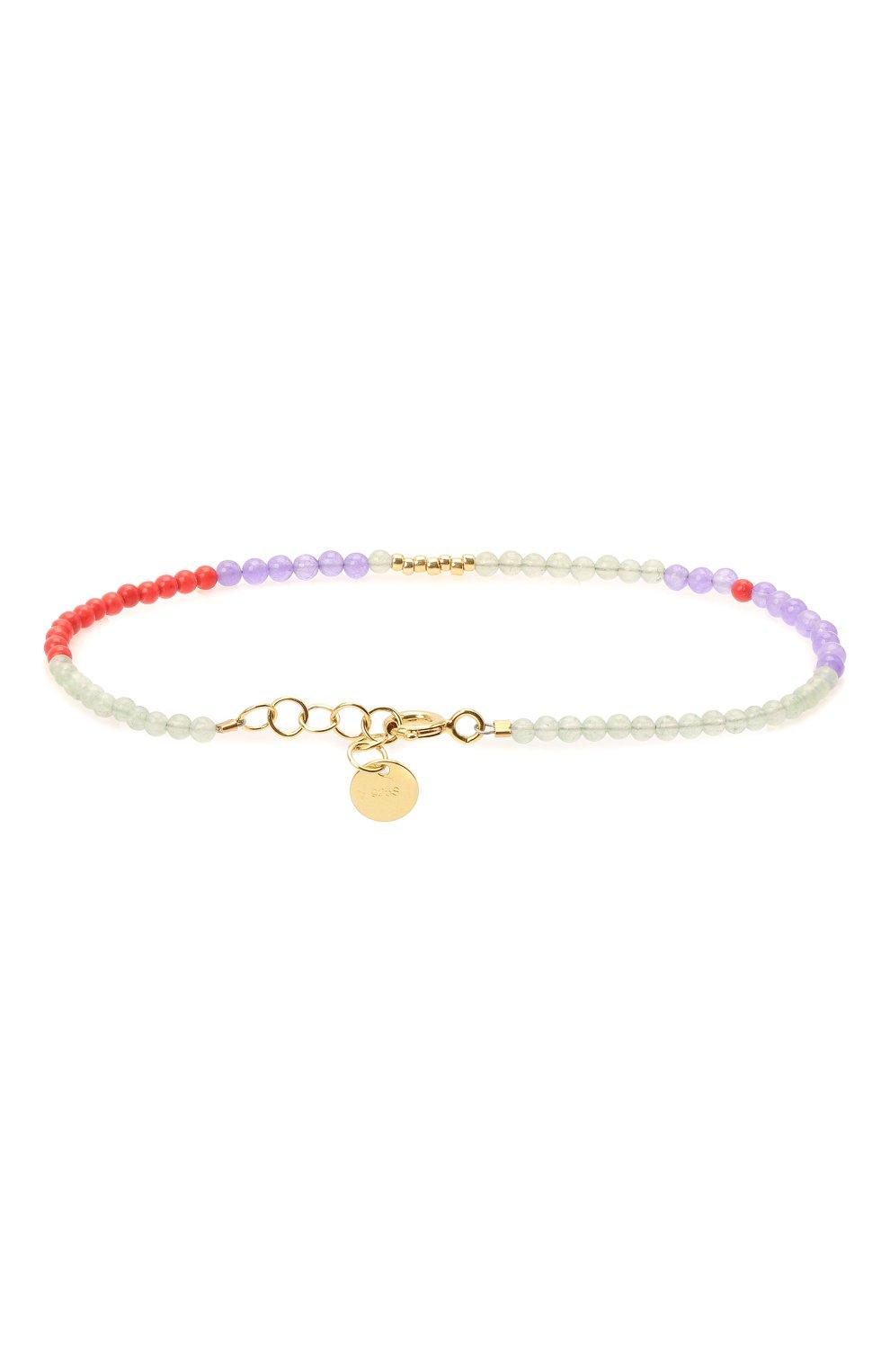 Женский браслет ANNI LU разноцветного цвета, арт. 162-01-04/M | Фото 2 (Материал: Стекло)
