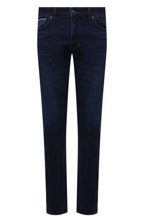 Мужские джинсы BOSS синего цвета, арт. 50452903 | Фото 1