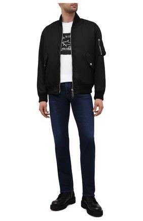 Мужские джинсы BOSS синего цвета, арт. 50452903 | Фото 2