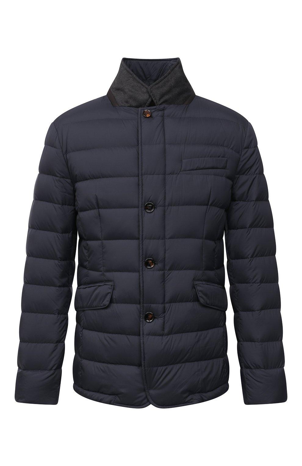Мужская пуховая куртка zayn-op MOORER синего цвета, арт. ZAYN-0P/M0UGI100307-TEPA017 | Фото 1 (Кросс-КТ: Куртка; Мужское Кросс-КТ: пуховик-короткий; Рукава: Длинные; Материал внешний: Синтетический материал; Материал подклада: Синтетический материал; Длина (верхняя одежда): Короткие; Материал утеплителя: Пух и перо; Стили: Кэжуэл)