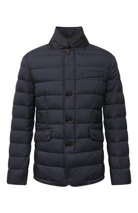 Мужская пуховая куртка zayn-op MOORER синего цвета, арт. ZAYN-0P/M0UGI100307-TEPA017 | Фото 1 (Материал внешний: Синтетический материал; Длина (верхняя одежда): Короткие; Материал подклада: Синтетический материал; Рукава: Длинные; Кросс-КТ: Куртка; Мужское Кросс-КТ: пуховик-короткий; Стили: Кэжуэл; Материал утеплителя: Пух и перо)