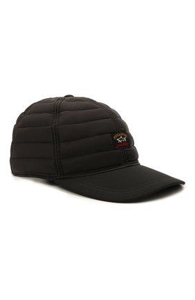 Мужской утепленная бейсболка PAUL&SHARK черного цвета, арт. 11317106/H2U | Фото 1