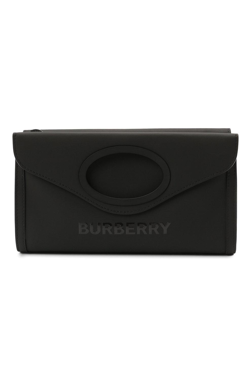 Мужская сумка BURBERRY черного цвета, арт. 8040078 | Фото 1