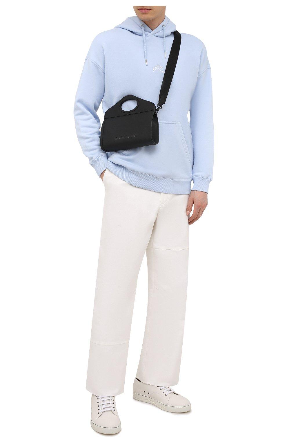 Мужская сумка BURBERRY черного цвета, арт. 8040078 | Фото 2