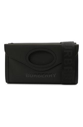 Мужская сумка BURBERRY черного цвета, арт. 8040078 | Фото 5