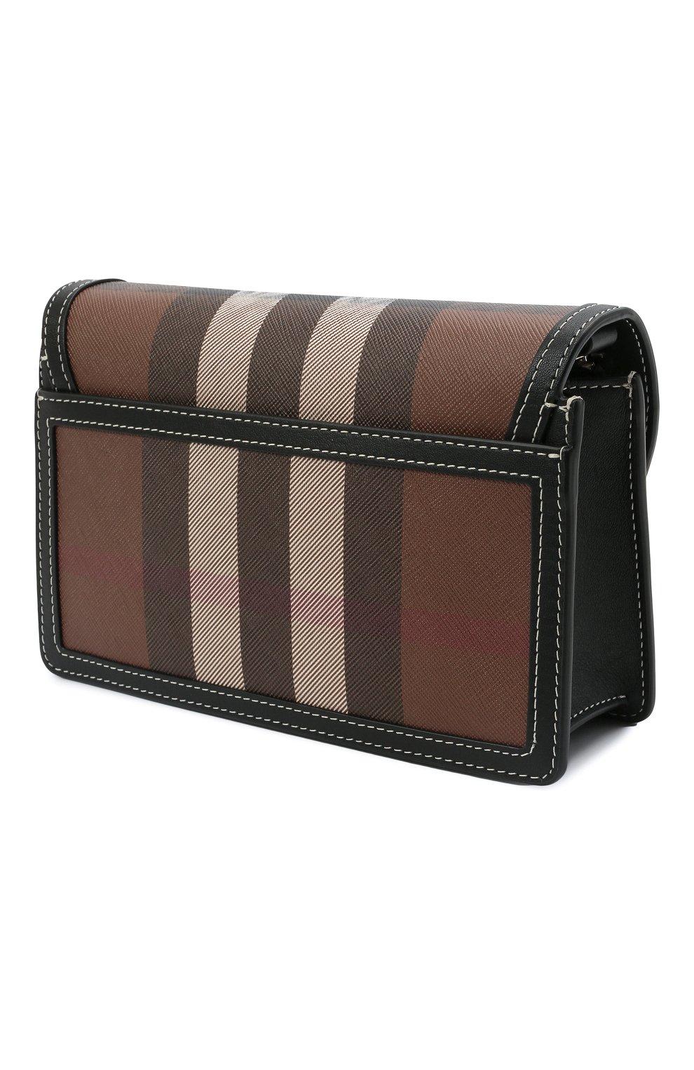 Мужская сумка BURBERRY коричневого цвета, арт. 8039213 | Фото 3