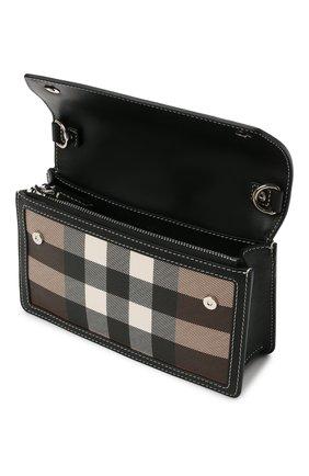 Мужская сумка BURBERRY коричневого цвета, арт. 8039213 | Фото 4