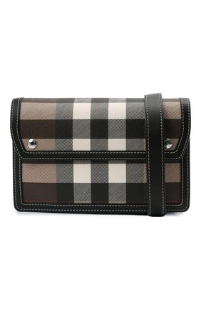 Мужская сумка BURBERRY коричневого цвета, арт. 8039213 | Фото 5