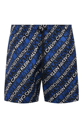 Мужские плавки-шорты CALVIN KLEIN синего цвета, арт. KM0KM00550 | Фото 1