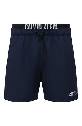 Мужские плавки-шорты CALVIN KLEIN темно-синего цвета, арт. KM0KM00552 | Фото 1