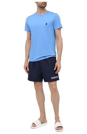 Мужские плавки-шорты CALVIN KLEIN темно-синего цвета, арт. KM0KM00552 | Фото 2