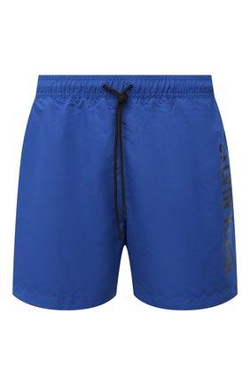 Мужские плавки-шорты CALVIN KLEIN синего цвета, арт. KM0KM00570 | Фото 1