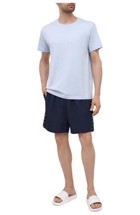 Мужские плавки-шорты CALVIN KLEIN темно-синего цвета, арт. KM0KM00573 | Фото 2