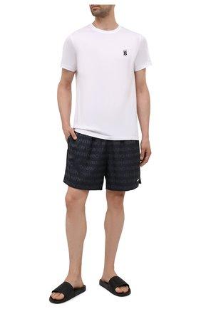 Мужские плавки-шорты CALVIN KLEIN темно-серого цвета, арт. KM0KM00575   Фото 2 (Материал внешний: Синтетический материал)
