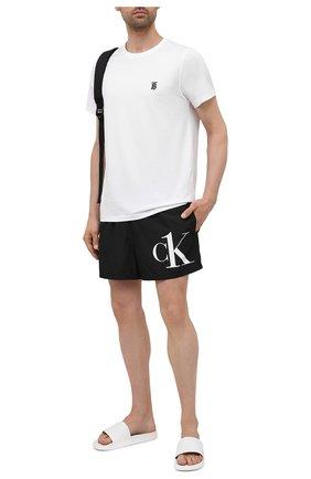 Мужские плавки-шорты CALVIN KLEIN черного цвета, арт. KM0KM00591 | Фото 2