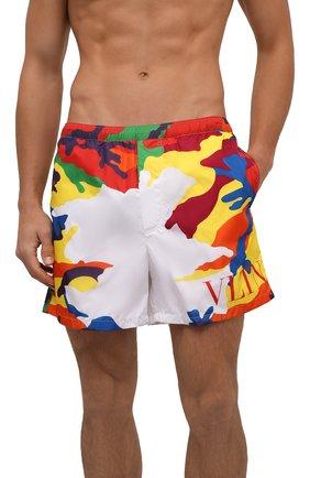 Мужские плавки-шорты VALENTINO разноцветного цвета, арт. WV3UH0287JB | Фото 2
