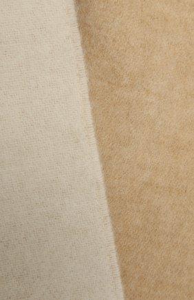 Женский шарф из шерсти и кашемира LOEWE белого цвета, арт. F810250X01 | Фото 2 (Материал: Шерсть; Кросс-КТ: шерсть)