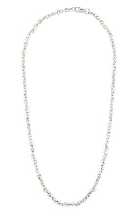 Женское колье COPINE JEWELRY серебряного цвета, арт. PJOTR | Фото 1