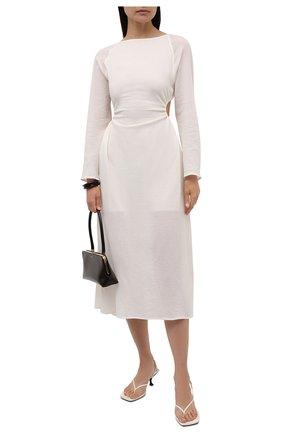 Женское хлопковое платье RUBAN молочного цвета, арт. RPSU21-10.2.51.10   Фото 2