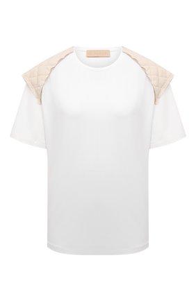 Женская хлопковая футболка RUBAN белого цвета, арт. RPS21-17.1.62.10   Фото 1
