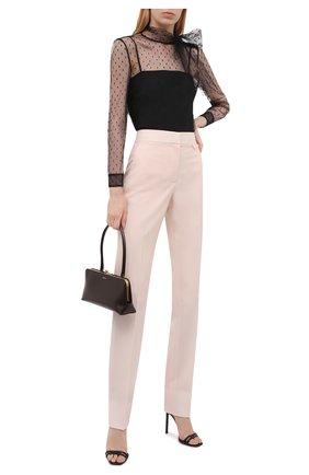 Женская блузка REDVALENTINO черного цвета, арт. WR3AB1Y0/1GK   Фото 2