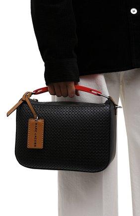 Женская сумка the box 23 MARC JACOBS (THE) черного цвета, арт. H107L01PF21   Фото 2