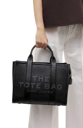 Женский сумка-тоут traveller small MARC JACOBS (THE) черного цвета, арт. H004L01PF21   Фото 2