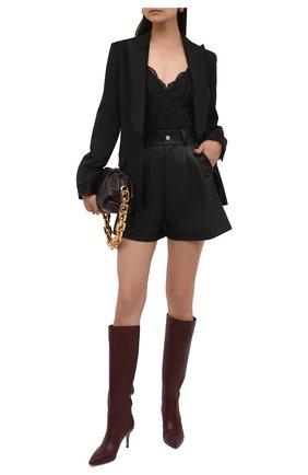 Женские кожаные сапоги hensen 70 GIANVITO ROSSI бордового цвета, арт. G80458.70RIC.VGIMERL | Фото 2