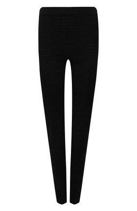 Женские леггинсы из вискозы GIVENCHY черного цвета, арт. BW50RJ4ZA4 | Фото 1