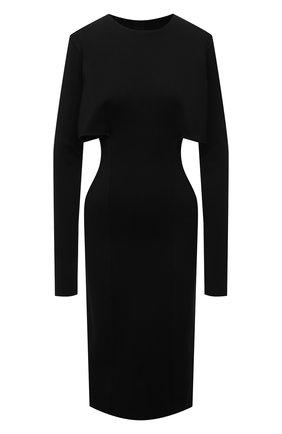 Женское платье из вискозы GIVENCHY черного цвета, арт. BW21694ZA1 | Фото 1