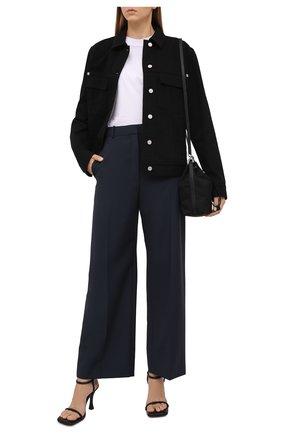 Женская джинсовая куртка GIVENCHY черного цвета, арт. BW00C350LP | Фото 2