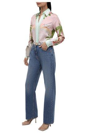 Женская шелковая рубашка CASABLANCA разноцветного цвета, арт. WS21-SH-008 CASABLANCA SURF CLUB   Фото 2