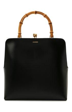 Женская сумка goji medium JIL SANDER черного цвета, арт. JSPT851577-WTB00080N | Фото 1