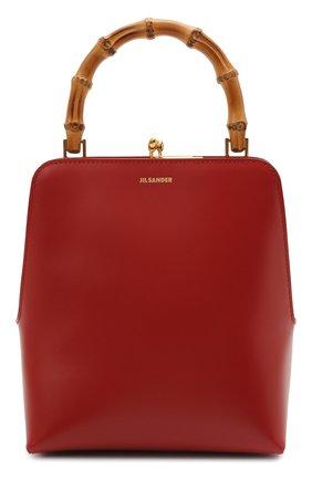 Женская сумка goji JIL SANDER красного цвета, арт. JSPT851578-WTB00080N   Фото 1