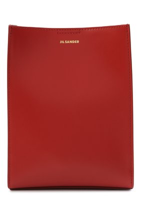 Женская сумка tangle small JIL SANDER красного цвета, арт. JSPT853173-WTB69158N   Фото 1
